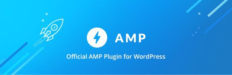 Шапка плагина AMP в репозитории WordPress